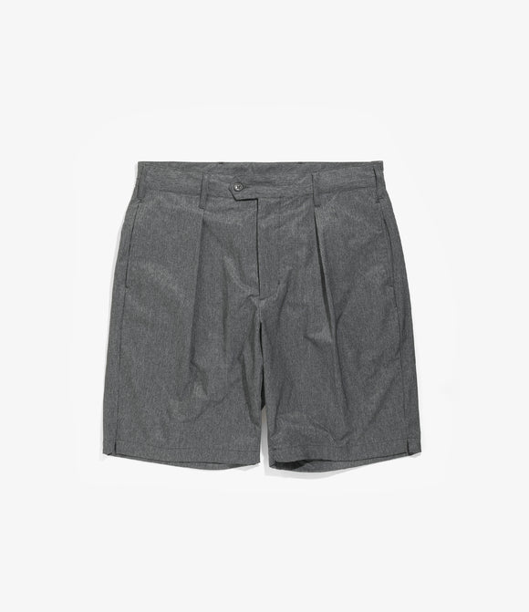 Sunset Short - Heather Charcoal Poly Microfiber