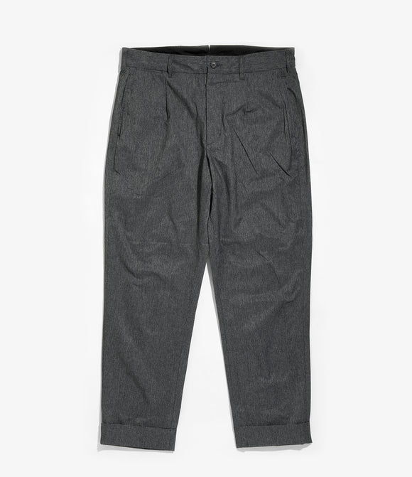 Andover Pant - Heather Charcoal Poly Microfiber