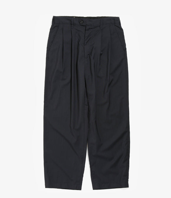 Emerson Pant - Dark Navy Tropical Wool
