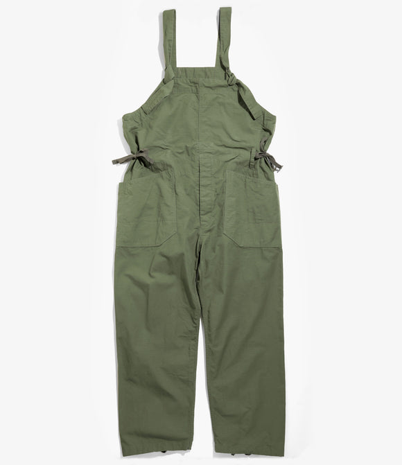 Overalls - Olive Cotton Ripstop