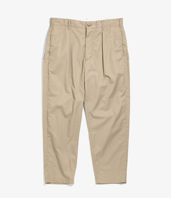Carlyle Pant - Khaki Highcount Twill