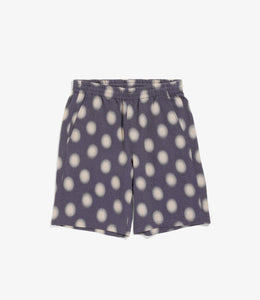 Basketball Short - Purple Ac/Cu Jacquard / Polka Dot