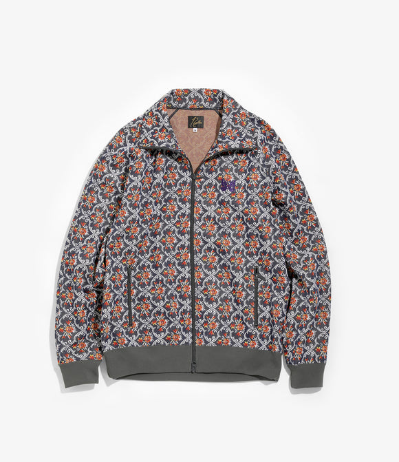 Track Jacket - Arabesque Poly Jacquard