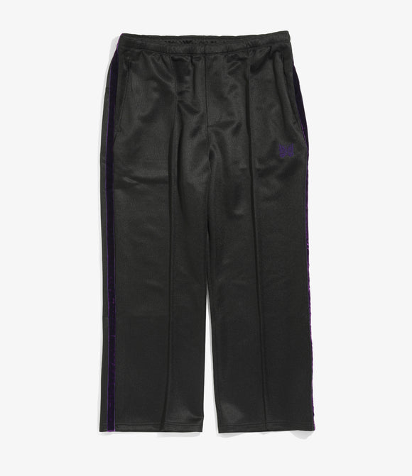 Side Line Center Seam Pant - Black/Purple Bright Poly Jersey