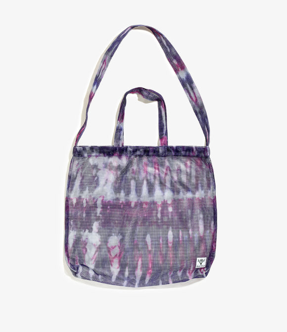 Grocery Bag - Tie Dye Poly Heavyweight Mesh / Print