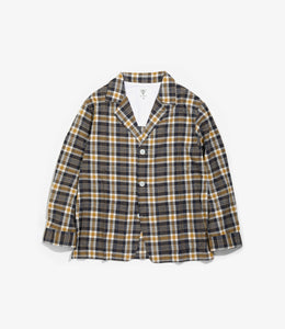 Pen Jacket - Navy - C/Pe Cloth / Madras Plaid