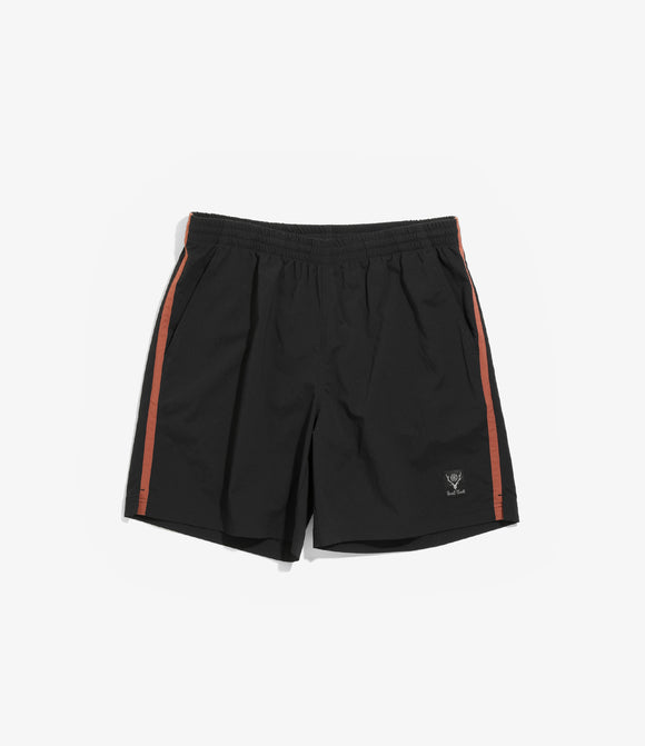 Side Line Trail Short - Black N/Pu Elastic Taffeta