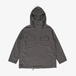Cagoule Shirt - Dk. Grey Brushed Cotton Twill
