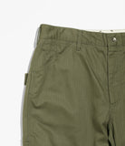 Painter Pant - Olive Cotton Herringbone Twill