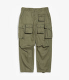 FA Pant - Olive Cotton Herringbone Twill
