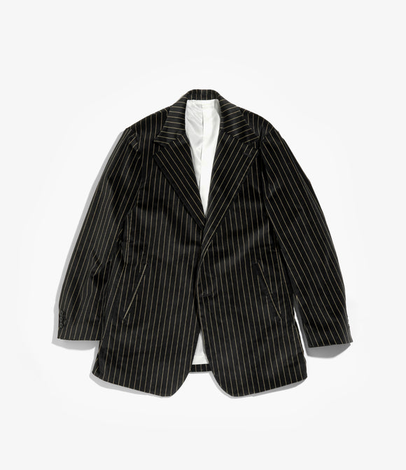2B Jacket - Stripe Velveteen