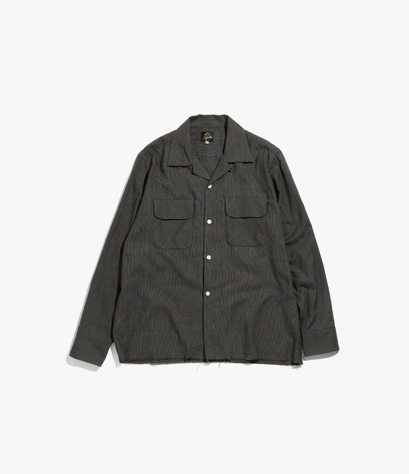 C.O.B. Classic Shirt - C/Pe/R Plaid Twill