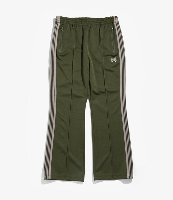 Boot cut Track Pant - Poly Smooth
