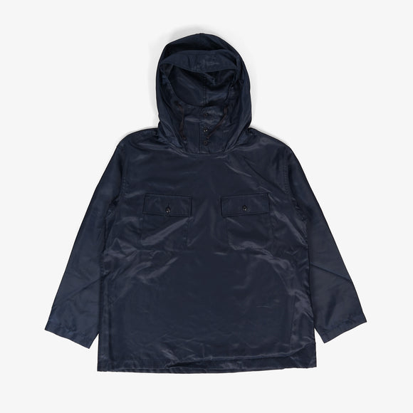 Cagoule Shirt - Navy Polyester Pilot Twill