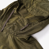 Cagoule Shirt - Olive Drab Polyester Pilot Twill
