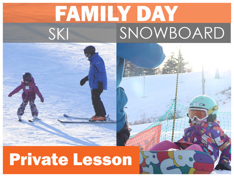 FAMILY DAY PRIVATE Lessons