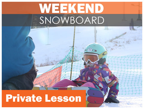 Private SNOWBOARD Lesson