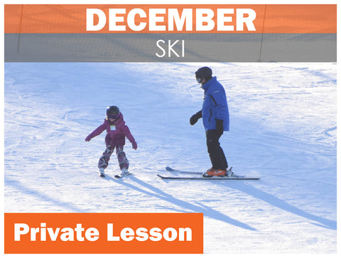 DECEMBER Private SKI Lesson