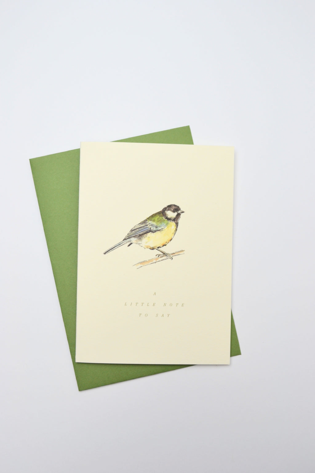A Little Note Great Tit