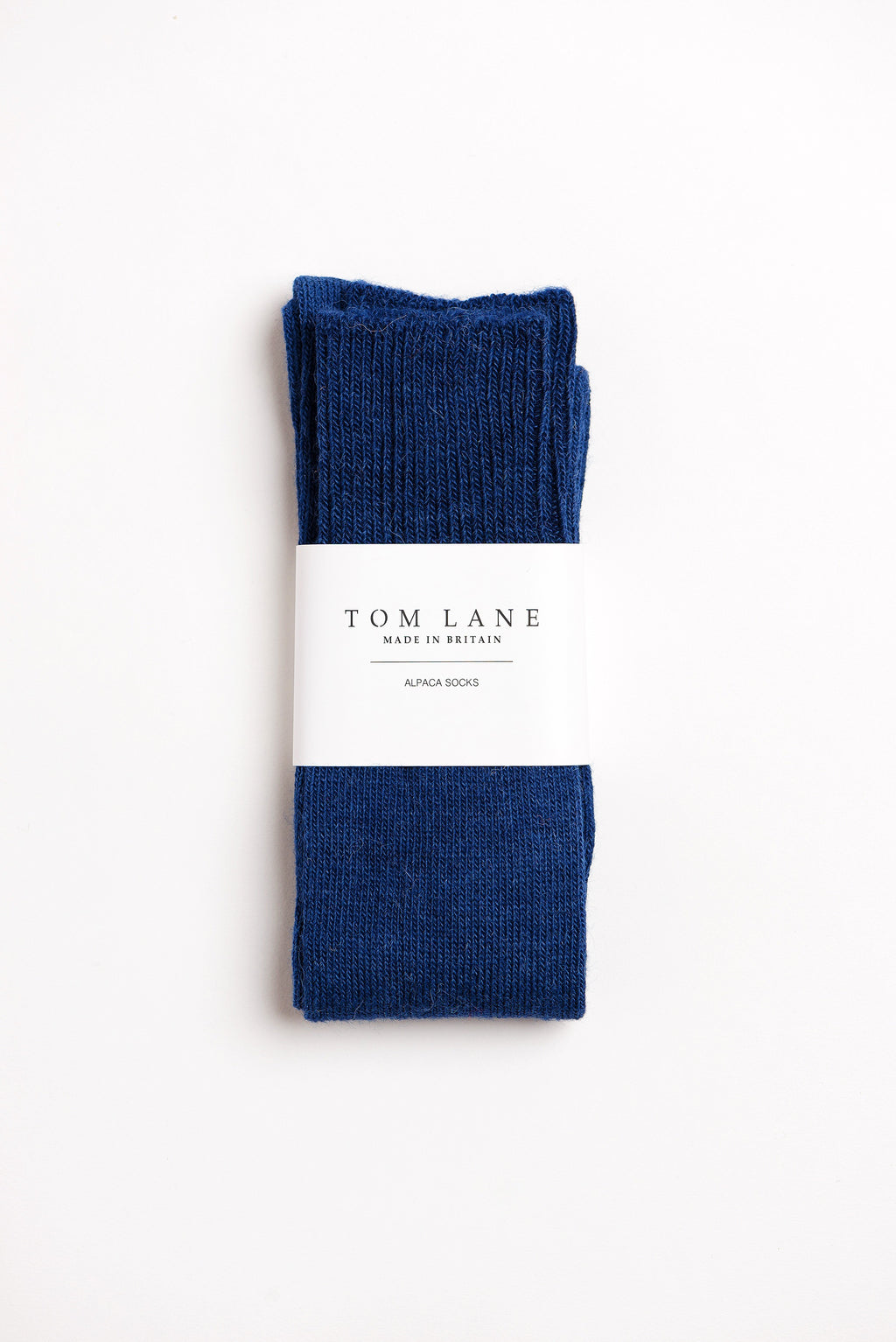 Long Alpaca Socks Navy