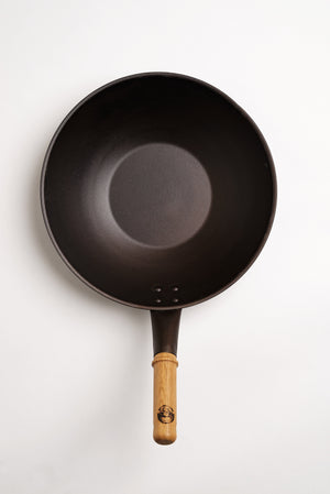 Wok with Lid 13""