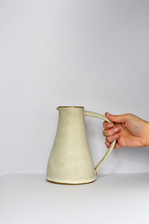 Tall Jug in Fat White