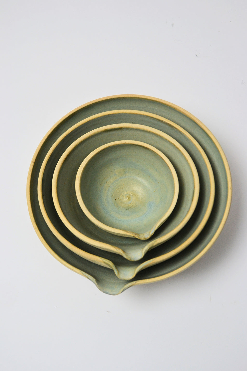 Set of Four Pouring Bowls