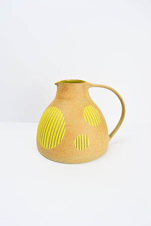 Yellow Spotted Jug