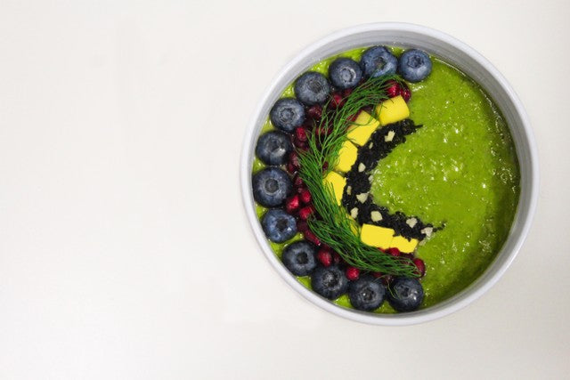 Matcha Smoothie Bowl | Collagen Powder Recipes