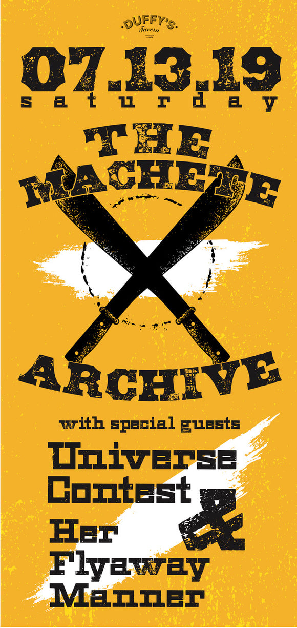 The Machete Archive