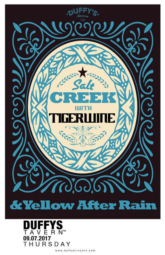 Salt Creek Tigerwine Poster