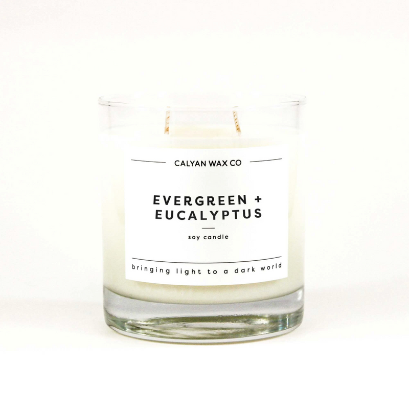 Evergreen + Eucalyptus / Clear