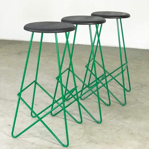 The Minimal Bar Stool - Green