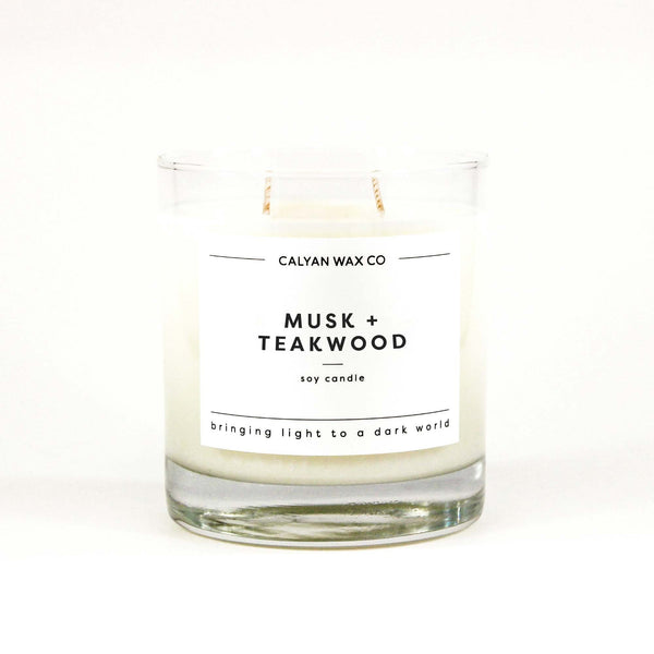 Musk + Teakwood / Clear
