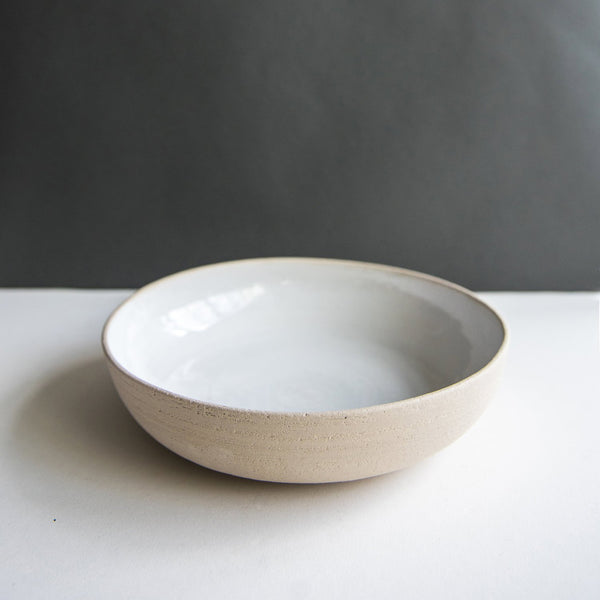 The Pure Stone Serving Bowl