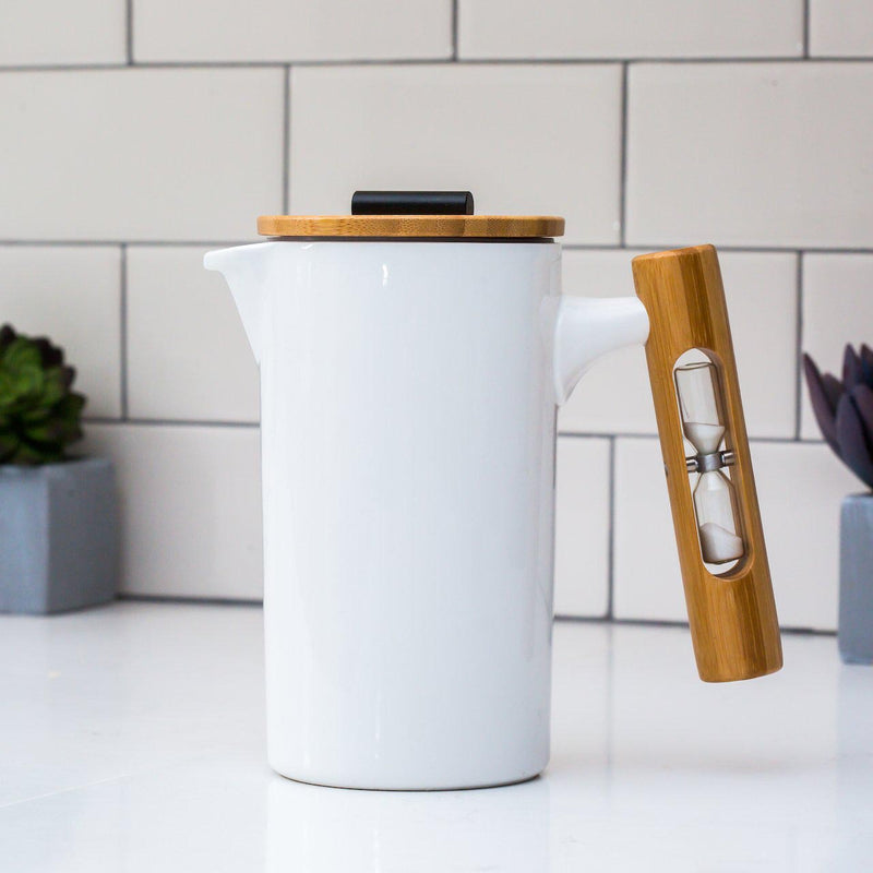 The Nordic French Press - White