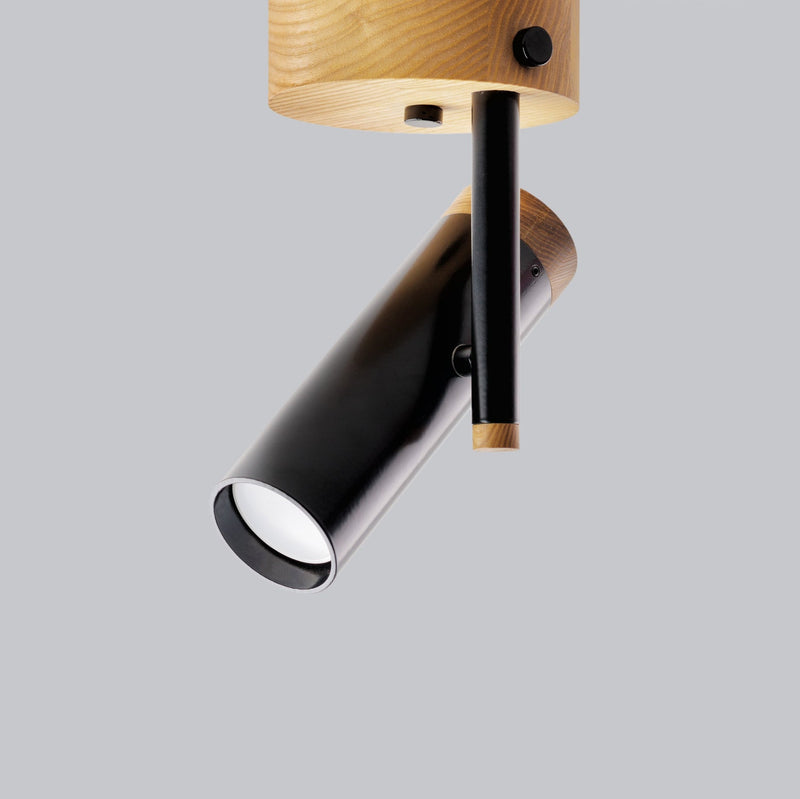 The Nordic Wall/Ceiling Sconce - Black