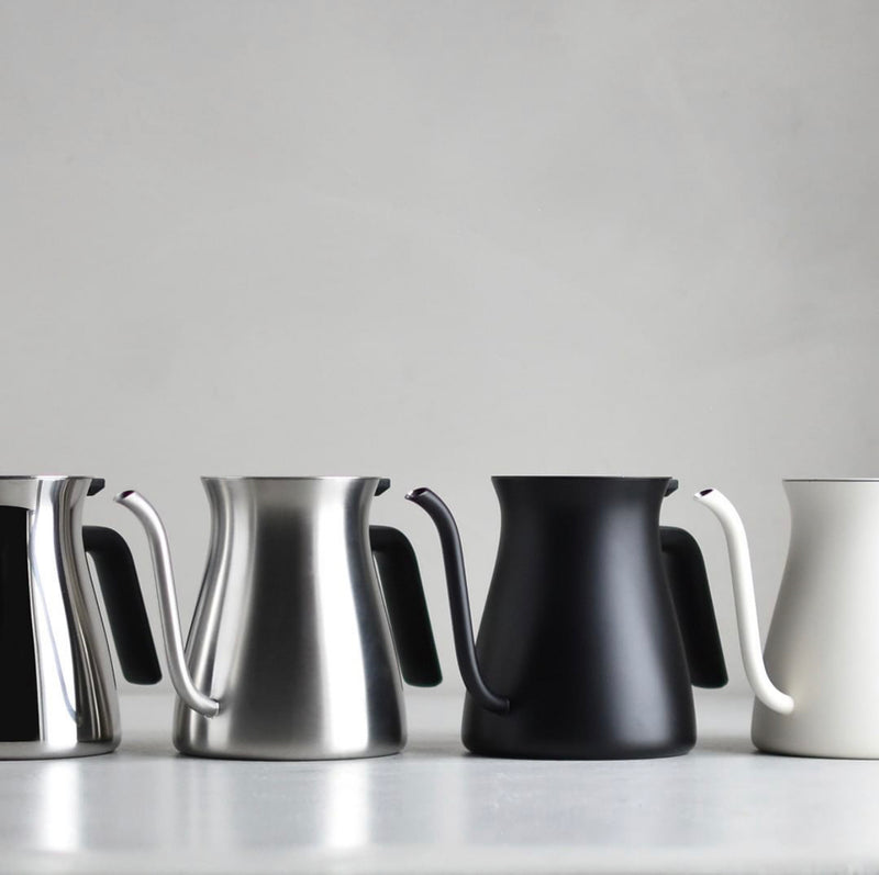 The Pour Over Kettle - Matte Steel