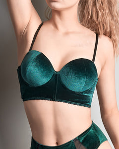 Christmas colors sutien smarald