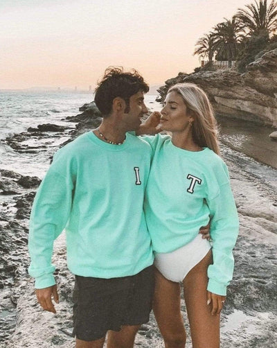 Sudadera MINT | Inicial Mini