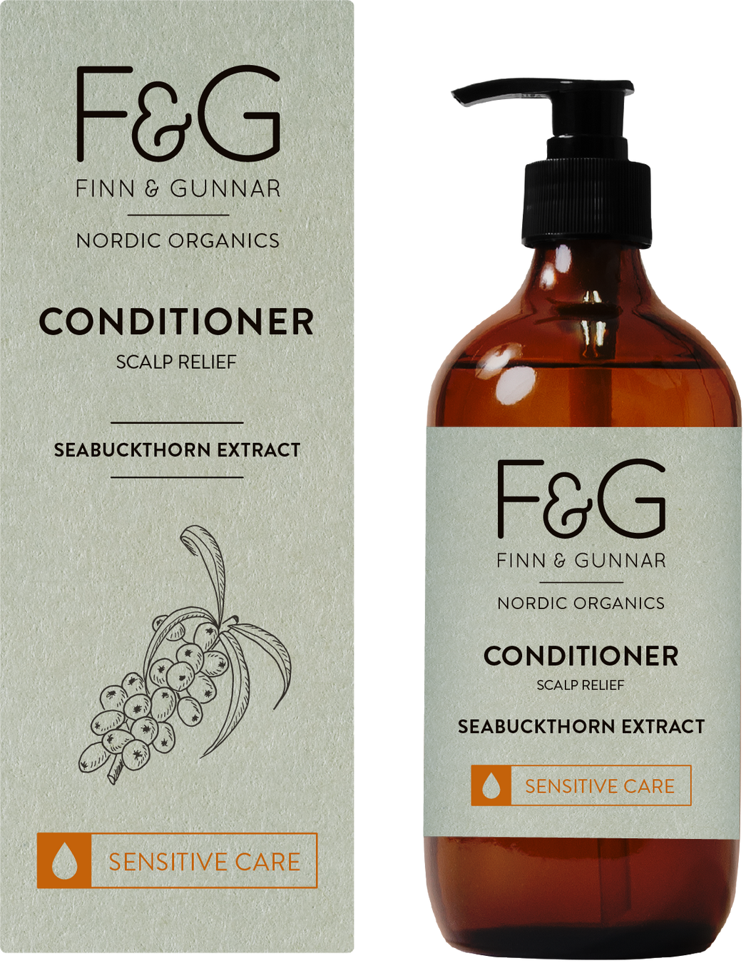 F&G Nordic Organics Conditioner Scalp Relief 200 ml