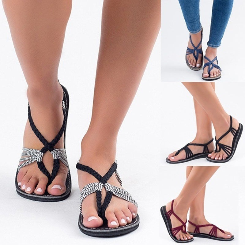 07bf5d120 Womens Summer Sandals With Beach Shoes Womens Sandals Simple Casual Beach  Shoes - The Pumpernickel Store