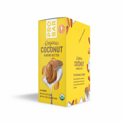 Coconut Almond Butter w/Caffeine 10-Pack