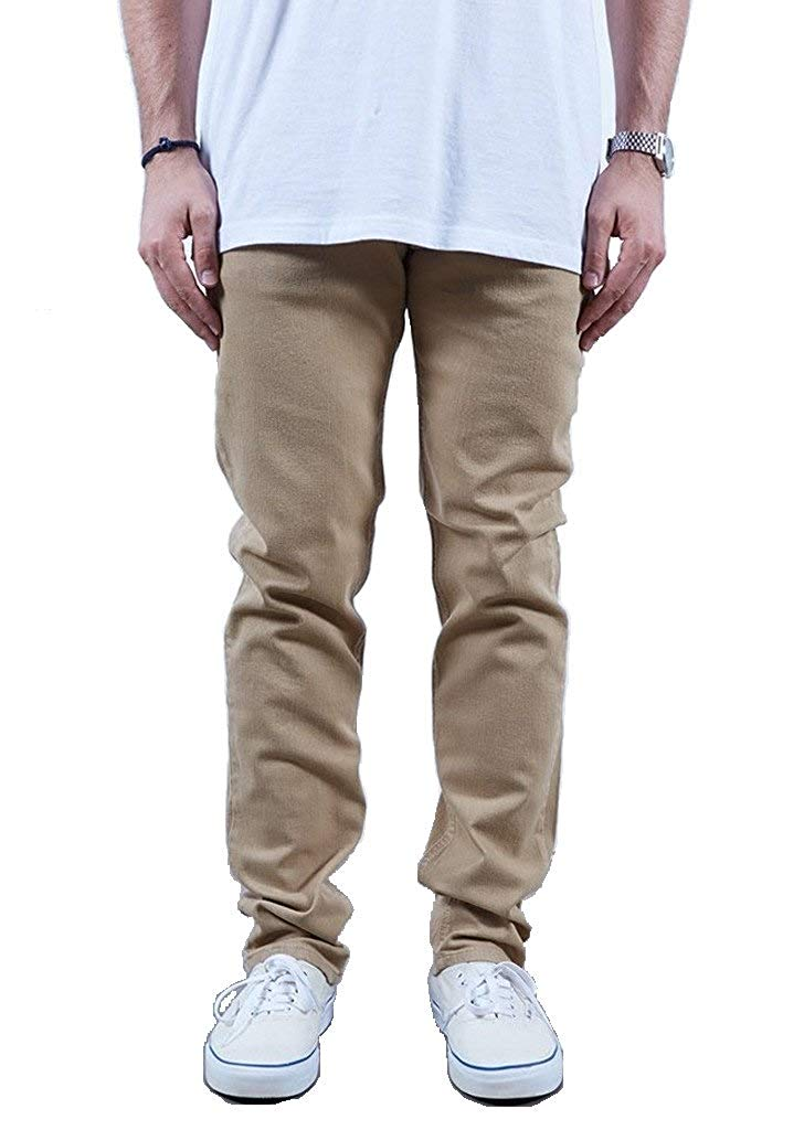 Rustic Dime Men's Slim Fit Jean - Khaki