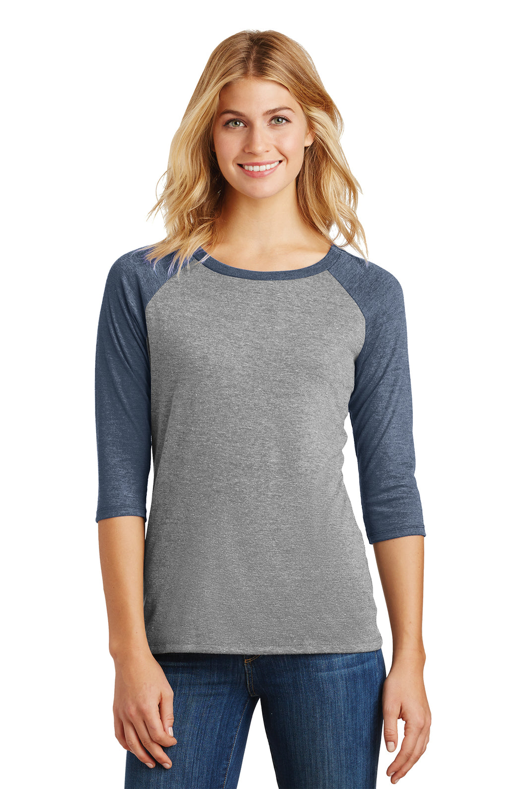 Women's Perfect Tri 3/4-Sleeve Raglan