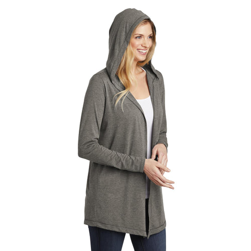 Women's Tri Hooded Cardigan