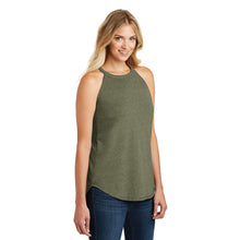Load image into Gallery viewer, Women's Perfect Tri Rocker Tank in Navy, Blush or Military Green