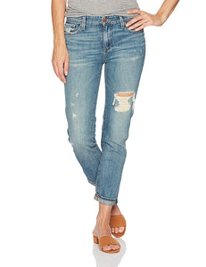 Lucky Brand Women's Mid Rise Sienna Slim Boyfriend Jean in Hatch