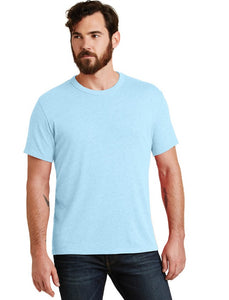 The Keeper Vintage 50/50 Men's T Shirt in Sky Blue, Black, Stone and Yellow