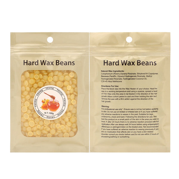 Wax Beans No Need of Wax Strips, Non greasy, Non sticky Just Put-it in a Wax heater it melt in strong wax